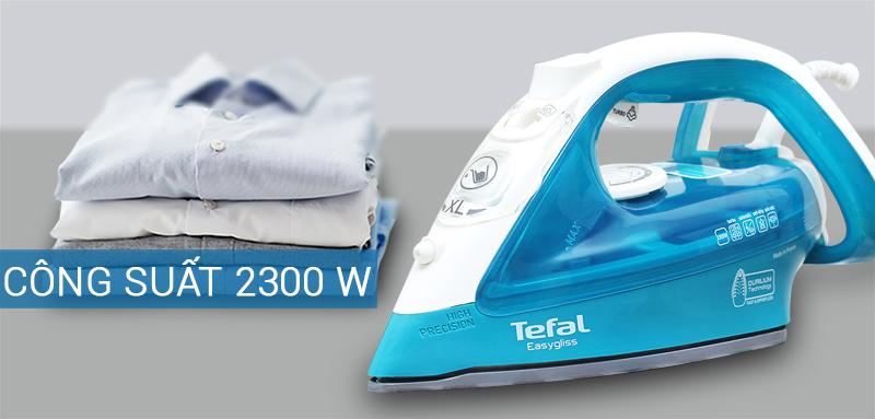 1627 BNLTEFALFV39253 - Bàn ủi hơi nước Tefal FV3925 chính hãng