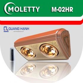 Đèn sưởi nhà tắm Moletty M-2HR