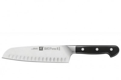 DAO ZWILLING PRO SANTOKU WITH HOLLOW EGDE