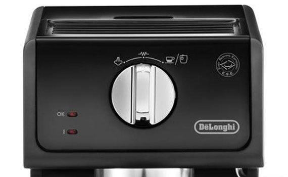 máy pha cà phê delonghi ecp3121 núm vặn dễ điều chỉnh